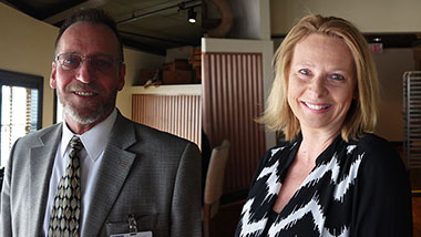Darryl and Lana are All Star employees at Argosy Casino Alton.