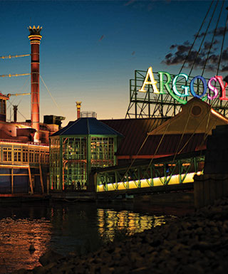 Argosy Casino Alton Riverboat Gaming Dining Entertainment