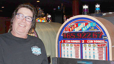 Argosy Casino Alton has jackpot winners every day.