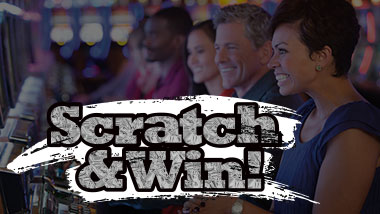 Scratch and Win program for New Members at Argosy Casino Alton.