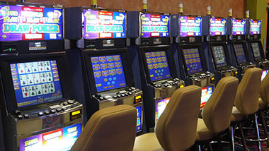 New gaming floor video poker at Argosy Casino Alton.