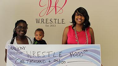 Argosy Casino Alton donated $1,000 to WRESTLE.